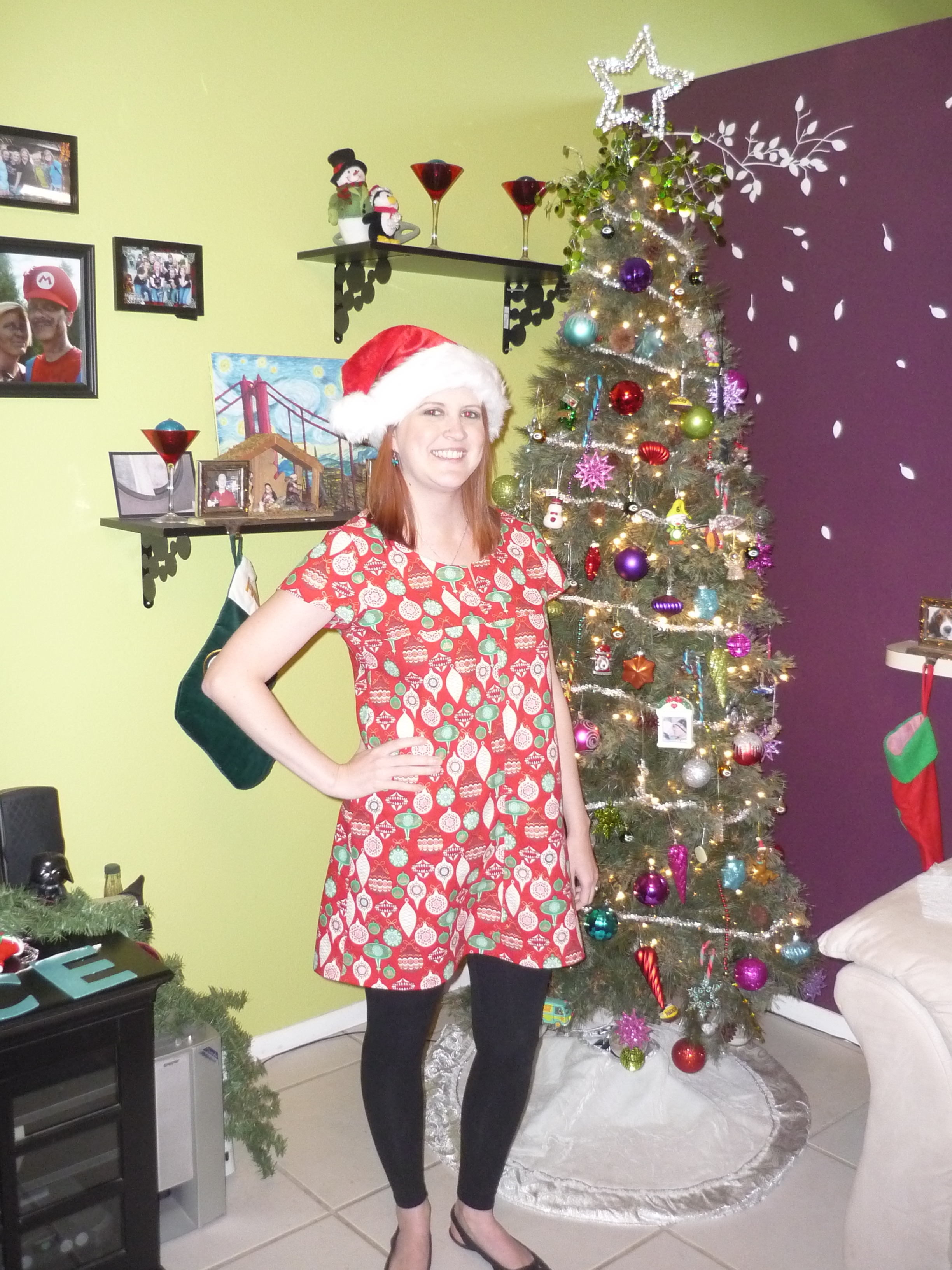 holiday dress pattern review