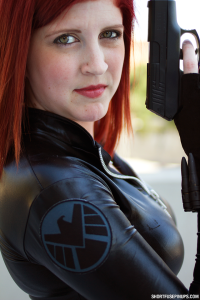 A to Z Cosplay as Black Widow at Dragon Con 2014