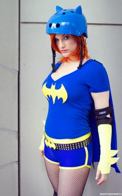 Brittnie Jade as Bat Girl Roller Girl