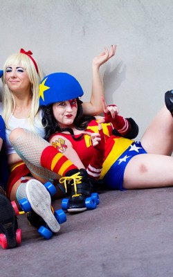 Leaping Lizard Cosplay, A to Z Cosplay, and Brittnie Jade Roller Girls