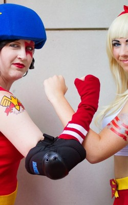 A to Z Cosplay and Leaping Lizard Cosplay Roller Girls