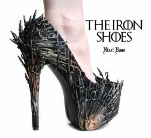 the Iron shoes DIY A to Z Cosplay