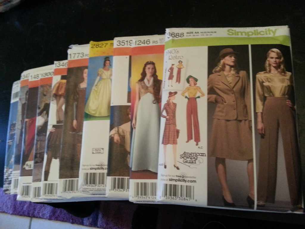 Simplicity sale at Joann's