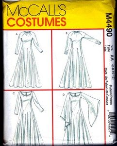 A to Z Cosplay Mother Gothel dress pattern suggestion