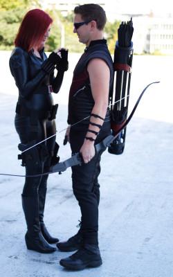 Hawkeye cosplay Black Widow cosplay Avengers cosplay A to Z Cosplay
