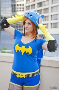 Brittnie Jade - Dc Hero Roller Derby Girl cosplay